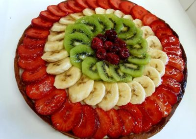 tarte aux fruits ardeche