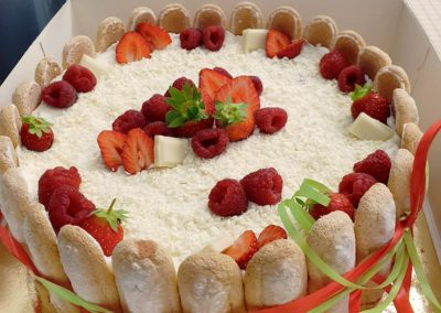 desserts au parfum des bois